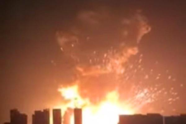 vụ nổ ở Trung Quốc