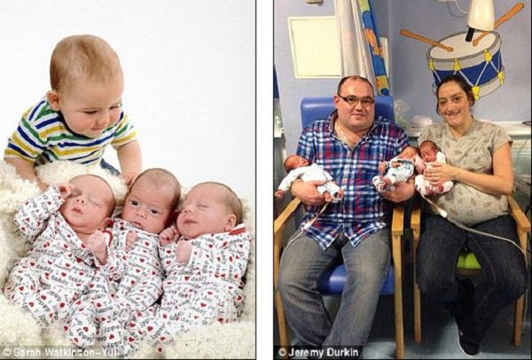 Cuộc sống bị đảo lộn của bà mẹ sinh 4 đứa con trong một năm 3
