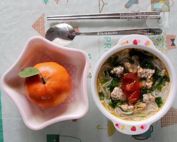 Thực đơn bữa sáng siêu tốc cho con của bà mẹ bận rộn 2