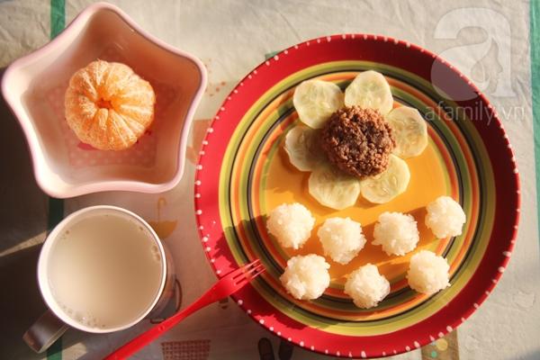 Thực đơn bữa sáng siêu tốc cho con của bà mẹ bận rộn 4