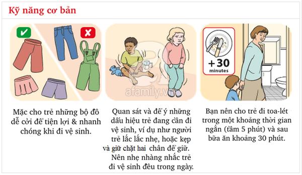 Kĩ năng chuẩn khi đi vệ sinh bố mẹ cần dạy con từ sớm 2