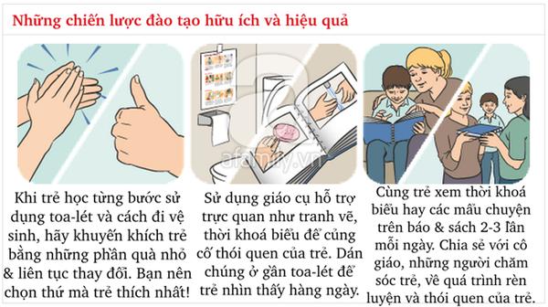 Kĩ năng chuẩn khi đi vệ sinh bố mẹ cần dạy con từ sớm 5