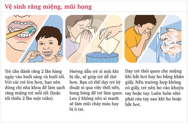 Các kĩ năng vệ sinh cá nhân bố mẹ cần dạy con từ tuổi mầm non 3