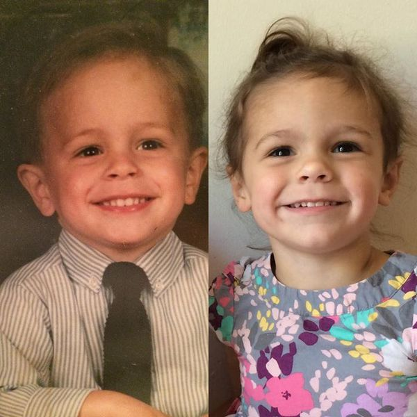 """Những bức ảnh """"sao y bản chính"""" siêu đáng yêu của bố mẹ và con 11"""