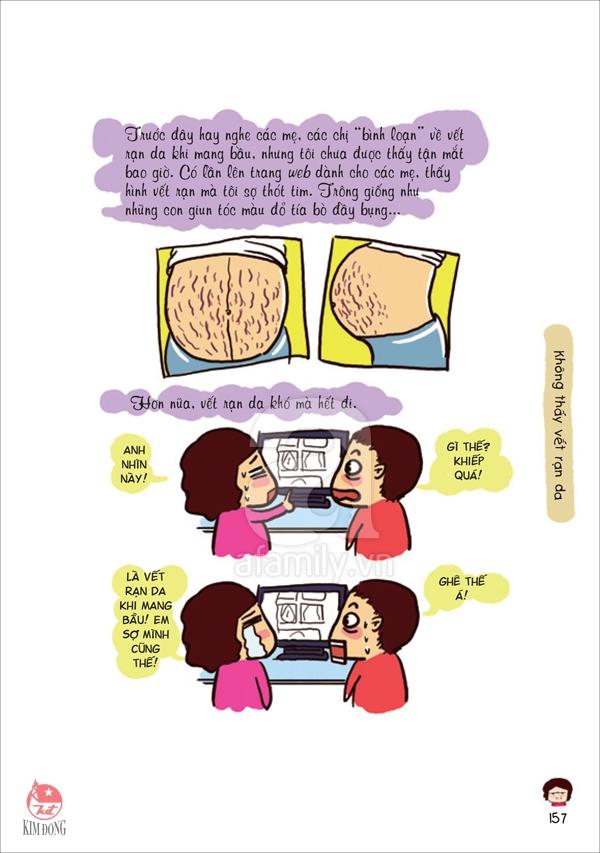 Sự thật phũ phàng về những vết rạn da trên bụng mẹ bầu 2