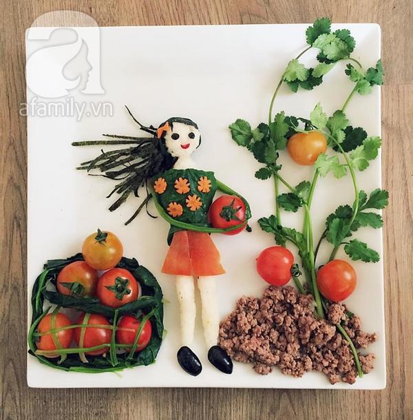 Trang trí món ăn cho con 3