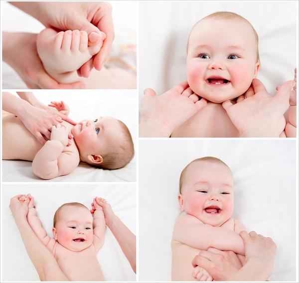 Bài tập vận động cho bé từ 0-3 tháng tuổi 5