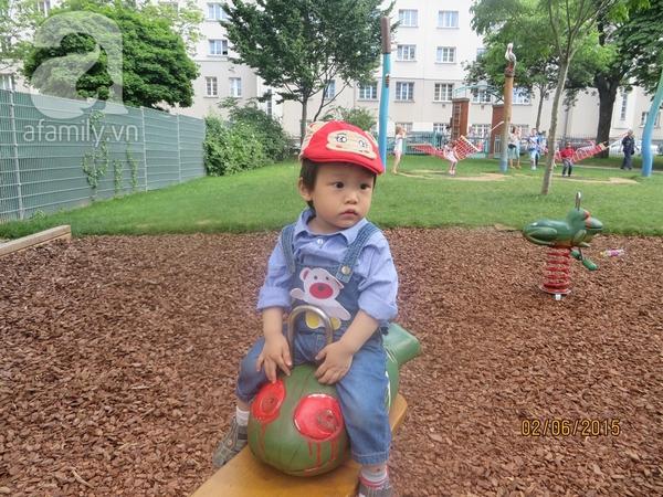 Bố Việt ở Áo 14