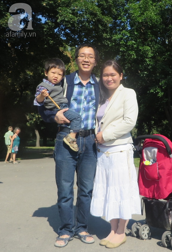 Bố Việt ở Áo 3