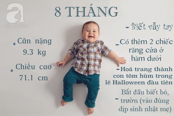 Năm đầu đời của bé 8