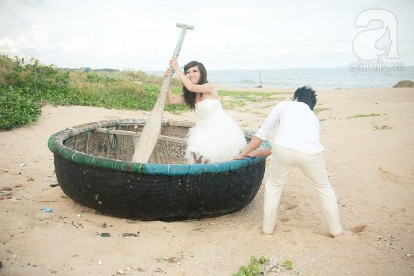 bộ ảnh cưới lạ