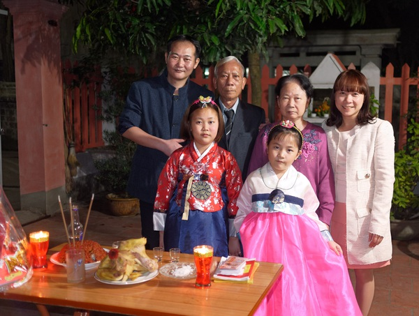 làm dâu Hàn