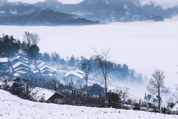 Có một Sapa đẹp như trời Tây khi chìm trong tuyết trắng