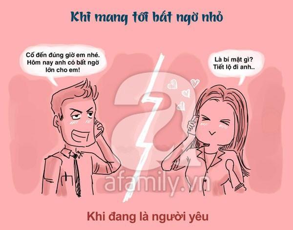 Sự khác nhau thú vị giữa đàn ông khi đang yêu và khi đã là chồng 9