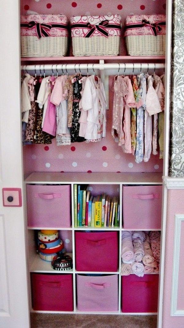"""Những mẹo nhỏ """"quy hoạch"""" tủ quần áo của bé sạch, đẹp, ngăn nắp 3"""