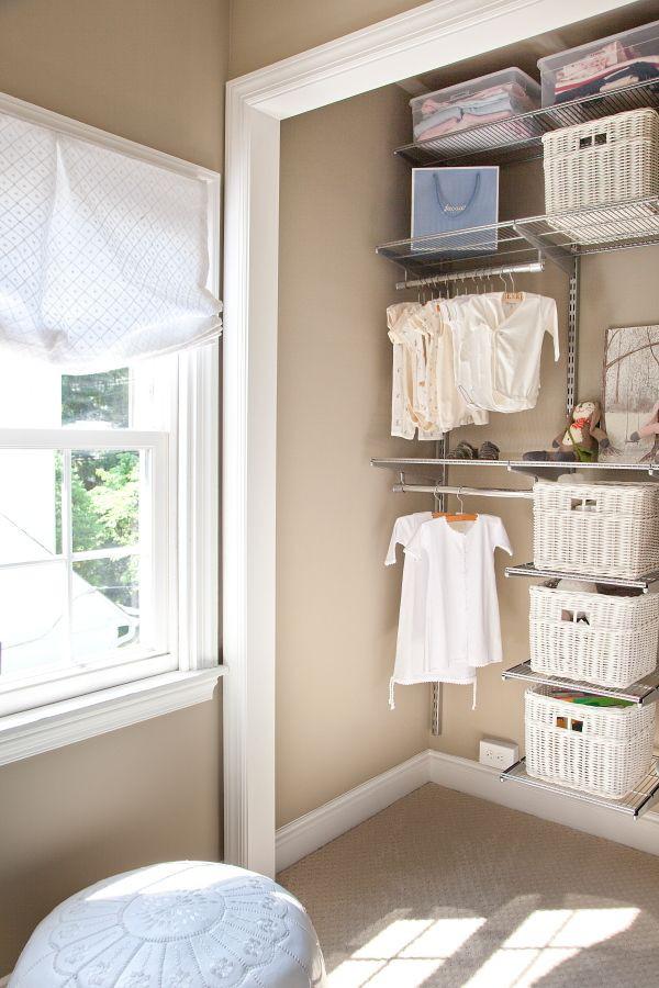 """Những mẹo nhỏ """"quy hoạch"""" tủ quần áo của bé sạch, đẹp, ngăn nắp 8"""