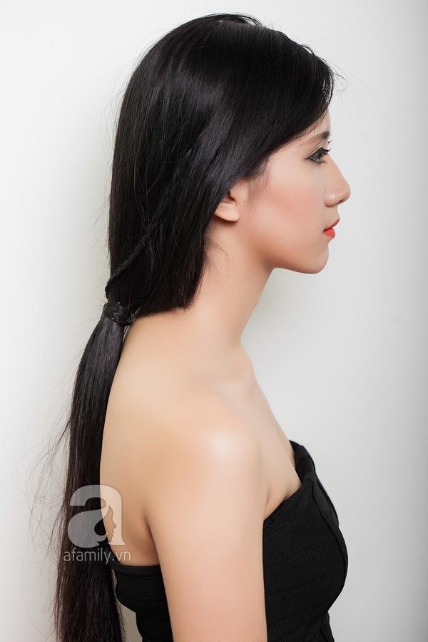 Hướng dẫn làm 4 kiểu tóc đẹp dịu dàng và lãng mạn hợp ngày thu 12