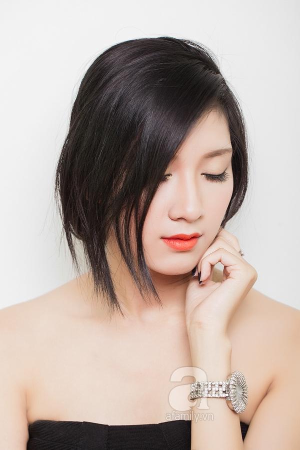 Hướng dẫn làm 4 kiểu tóc đẹp dịu dàng và lãng mạn hợp ngày thu 11