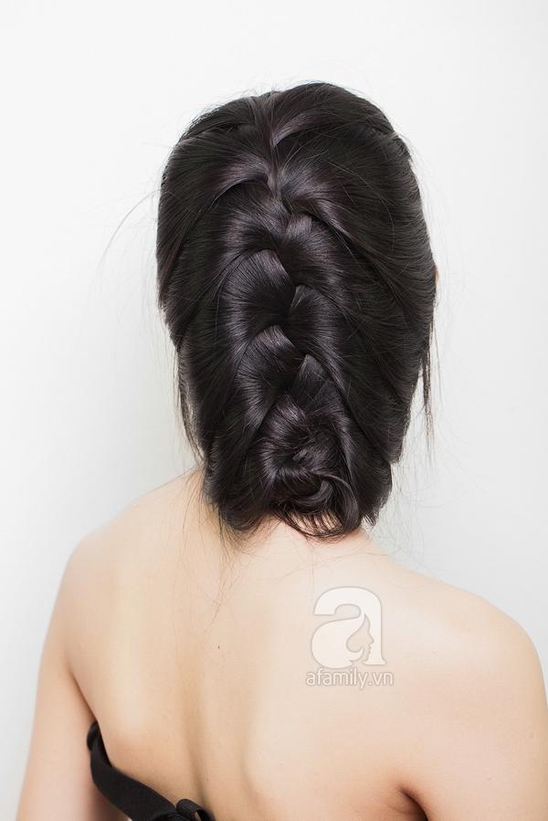 Hướng dẫn làm 4 kiểu tóc đẹp dịu dàng và lãng mạn hợp ngày thu 8