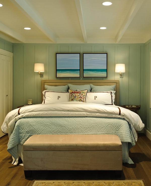 Bài trí phòng ngủ hoàn hảo với màu ngọc lam 4