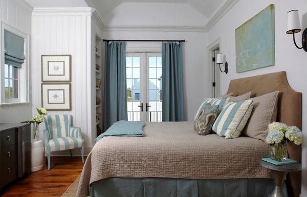 Bài trí phòng ngủ hoàn hảo với màu ngọc lam 5