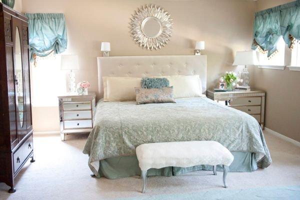 Bài trí phòng ngủ hoàn hảo với màu ngọc lam 7
