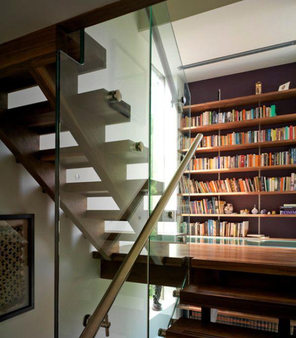 Những ý tưởng lưu trữ tuyệt vời cho chiếu nghỉ cầu thang 6