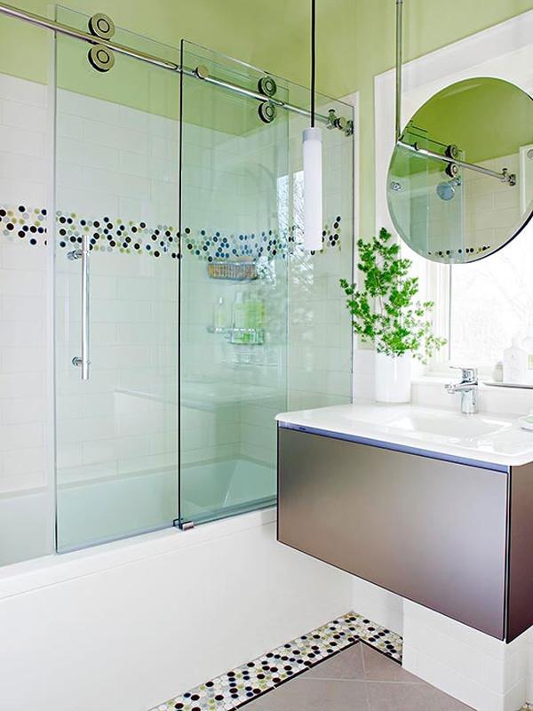 Mê mẩn với mẫu thiết kế phòng tắm nhỏ mà thoáng 1