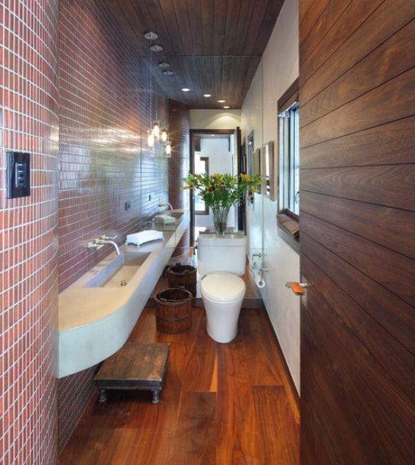 4 lưu ý bài trí  giúp phòng tắm hẹp ấn tượng hơn 4