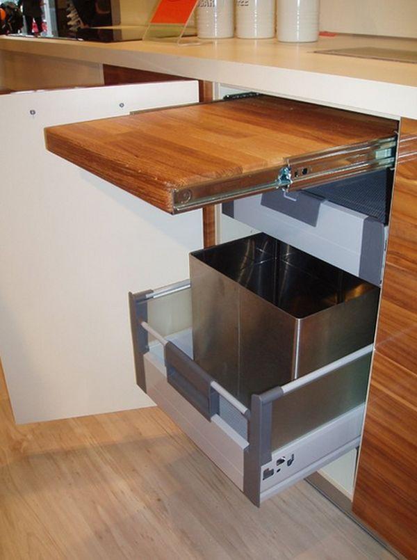 5 giải pháp lưu trữ tiết kiệm diện tích cho phòng bếp nhỏ 3