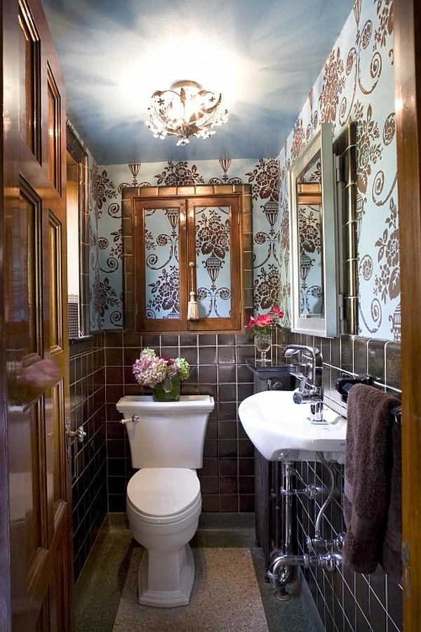 4 lưu ý bài trí  giúp phòng tắm hẹp ấn tượng hơn 5