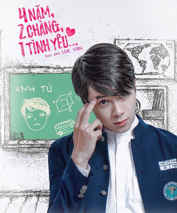 Tuy thất tình trong phim nhưng ngoài đời Anh Tú là một chàng trai chuẩn  soái ca: Đóng phim giỏi, hát hay, đàn tốt, nhảy đẹp và hài hước.