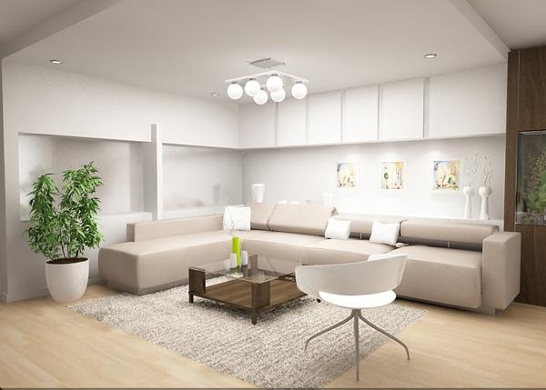 Mẹo bố trí hệ thống ánh sáng đẹp mắt cho phòng khách 5