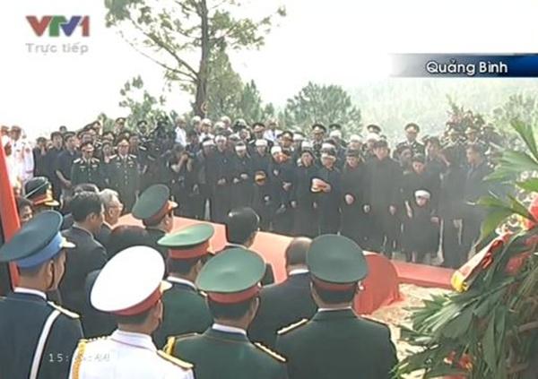 Đại tướng Võ Nguyên Giáp đã yên nghỉ trong lòng đất Mẹ 104