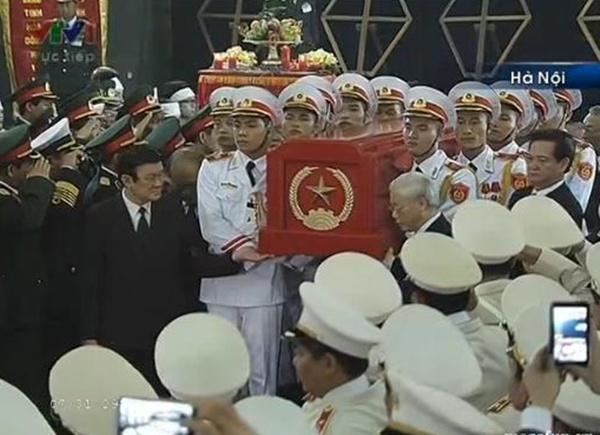 Đại tướng Võ Nguyên Giáp đã yên nghỉ trong lòng đất Mẹ 17