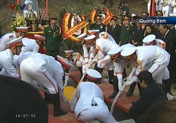 Đại tướng Võ Nguyên Giáp đã yên nghỉ trong lòng đất Mẹ 114