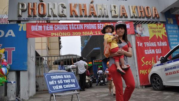 Hà Nội mở điểm tiêm ngừa sởi cho trẻ đến 6 tuổi 1