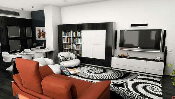 Làm ấm không gian với thảm trải sàn 2