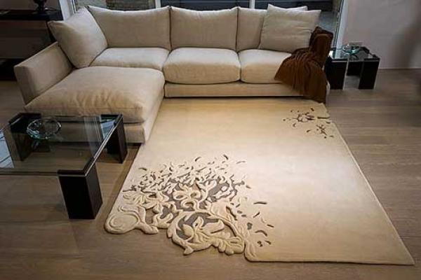 Làm ấm không gian với thảm trải sàn 1