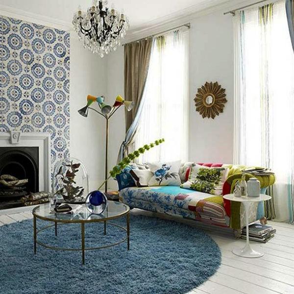 Làm ấm không gian với thảm trải sàn 10