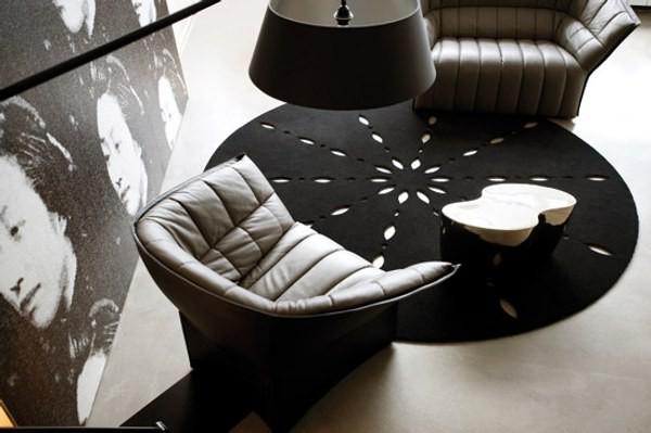 Làm ấm không gian với thảm trải sàn 12