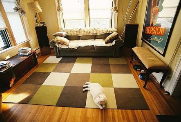 Làm ấm không gian với thảm trải sàn 11
