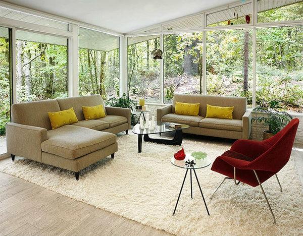 Làm ấm không gian với thảm trải sàn 9