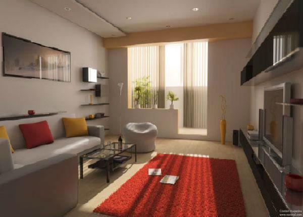 Làm ấm không gian với thảm trải sàn 8
