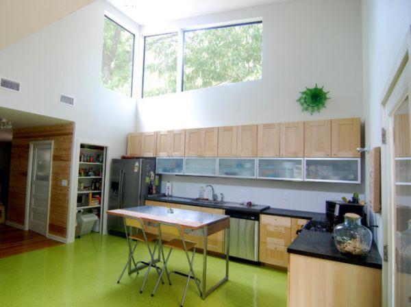 Décor nhà khéo léo với màu xanh lá 1