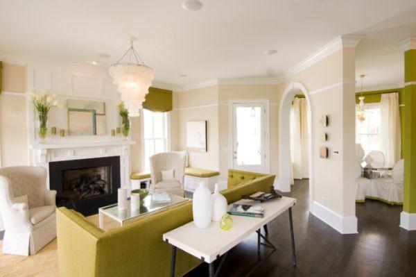 Décor nhà khéo léo với màu xanh lá 3