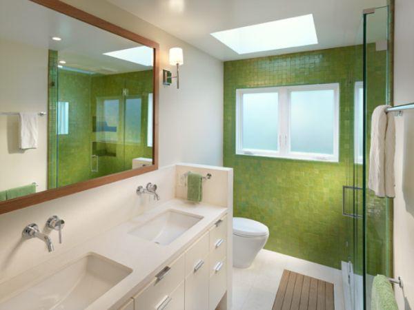 Décor nhà khéo léo với màu xanh lá 6