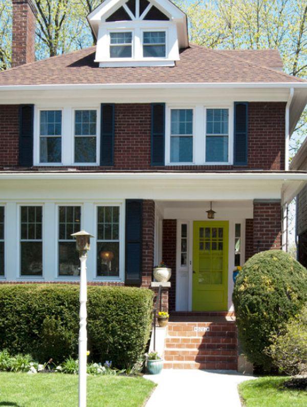 Décor nhà khéo léo với màu xanh lá 7