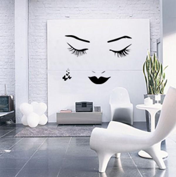 Trang trí tường nhà thêm xinh với đề can 2