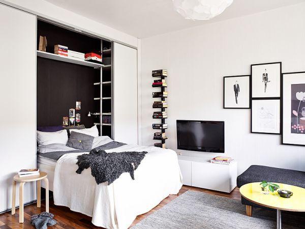 Cách bố trí nội thất cho căn hộ 25 mét vuông gọn gàng, xinh xắn 1